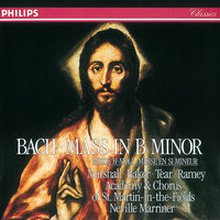 Bach, J.S.: Mass in B minor — Margaret Marshall, Dame Janet Baker, Robert Tear, Samuel Ramey, Academy of St. Martin  in  the Fields Chorus, Academy of St. Martin in the Fields