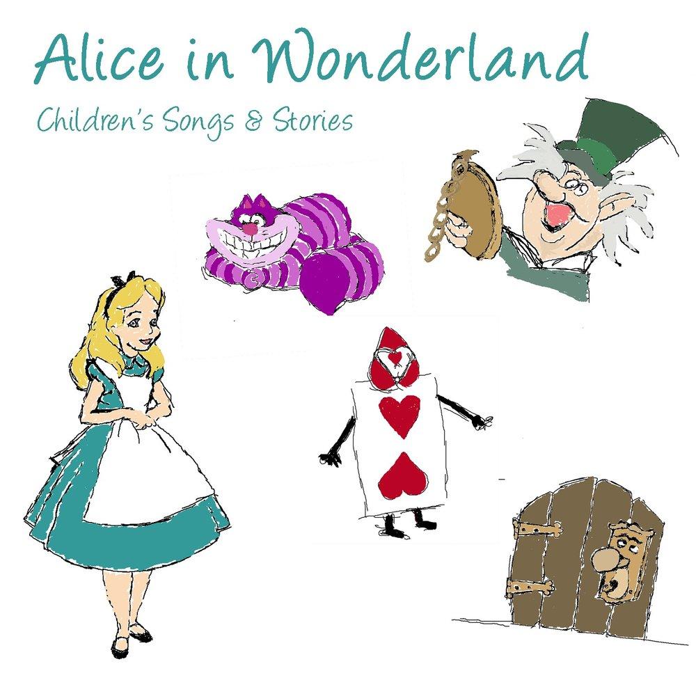 alice wonderland curious child