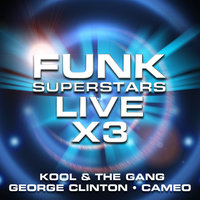 Funk Superstars Live x 3 — George Clinton