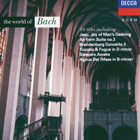 The World of Bach — Henryk Szeryng, Kathleen Ferrier, Peter Hurford, Choir Of St. John's College, Cambridge, George Guest, Stuttgarter Kammerorchester