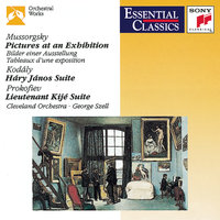 Mussorgsky: Pictures at an Exhibition; Kodály: Hary János Suite; Prokofiev: Lieutenant Kijé Suite — George Szell