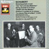 Schubert: String Quartets Nos. 14 &15 — Франц Шуберт, Busch Quartet