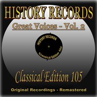 History Records - Classical Edition 105 - Great Voices - Vol. 2 — Berlin State Opera Orchestra, Рихард Вагнер