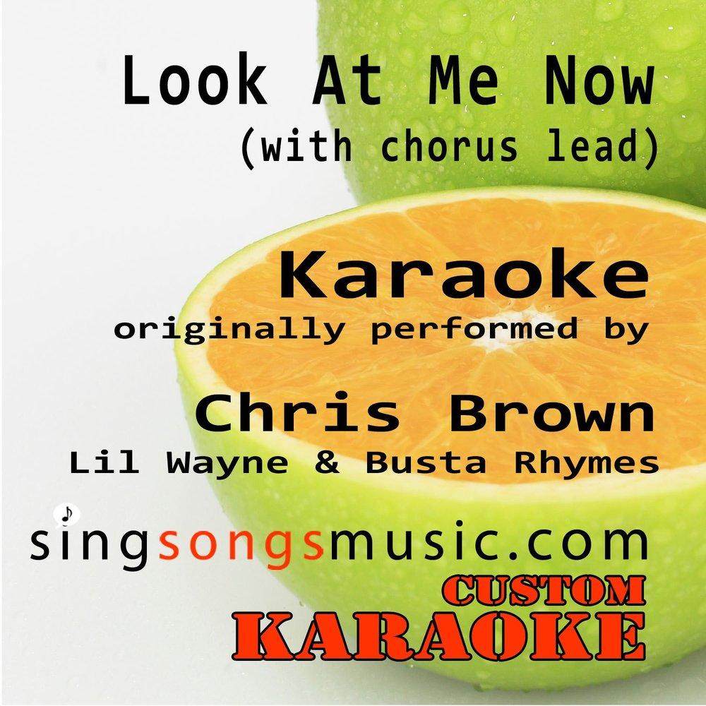 Look At Me Now (with Chorus Lead Vocal)  Слушать онлайн на