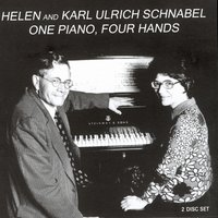 One Piano, Four Hands — Helen And Karl Ulrich Schnabel