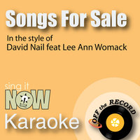 Songs for Sale — Off the Record Karaoke