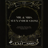 The Life & Death Of Mr. & Mrs. Alexander Stone — Exit 380