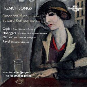 Arthur Honegger, Simon Wallfisch, Edward Rushton - 6 Poèmes extraits de Alcools de G. Apollinaire: V. L'Adieu