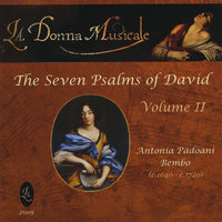 Antonia Bembo's The Seven Psalms of David, Vol. II — La Donna Musicale