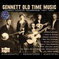 Gennett Old Time Music 1927-34 — сборник