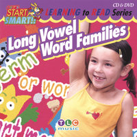 Long Vowel Word Families CD & DVD — Let's Start Smart
