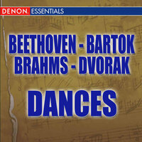 Beethoven: 12 Contredanses - Brahms: Hungarian Dances - Dvorák: Slavonic Dances - Bartók: Romanian Folk Dances — сборник