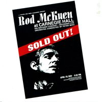 Sold Out at Carnegie Hall — Rod McKuen