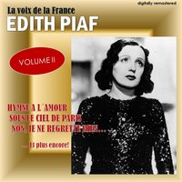 La voix de la France, Vol. 2 — Edith Piaf