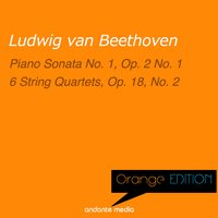 Orange Edition - Beethoven: Piano Sonata No. 1, Op. 2 No. 1 & 6 String Quartets, Op. 18, No. 2 — Alfred Brendel, Melos Quartet Stuttgart, Людвиг ван Бетховен