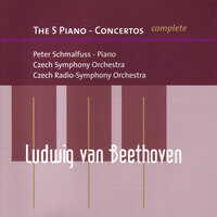The 5 Piano-Concertos — Czech Symphony Orchestra, Peter Schmalfuss