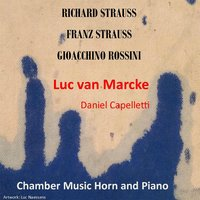 Franz and Richard Strauss - Rossini — Luc Van Marcke & Daniel Capelletti