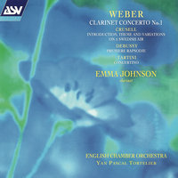 Weber: Clarinet Concerto No.1; Tartini: Concertino etc — Emma Johnson, English Chamber Orchestra, Yan Pascal Tortelier