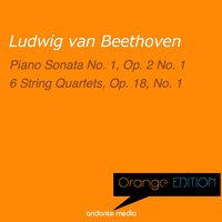 Orange Edition - Beethoven: Piano Sonata No. 1, Op. 2 No. 1 & 6 String Quartets, Op. 18, No. 1 — Alfred Brendel, Melos Quartet Stuttgart, Людвиг ван Бетховен