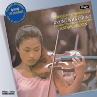 Tchaikovsky/Sibelius: Violin Concertos — André Previn, London Symphony Orchestra, Kyung Wha Chung