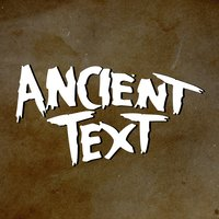 Ancient Text — Danny Goffey