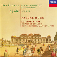 Beethoven: Quintet for Piano & Winds / Spohr: Wind Septet — Michael Collins, Pascal Rogé, Robin O'Neill, Richard Watkins