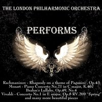 The London Philharmonic Orchestra Performs — London Philharmonic Orchestra, Vernon Handley, Johan Pachelbel