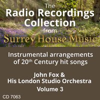 John Fox & His Orchestra, Vol. 3 — John Fox