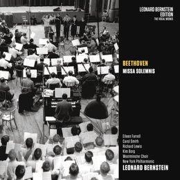 "Beethoven: Missa Solemnis, Op. 123 & Fantasia in C Minor, Op. 80 - Haydn: Mass in B-Flat Major, Hob. XXII; 12 ""Theresia"" — Леонард Бернстайн, New York Philharmonic Orchestra, Westminster Choir, London Symphony Orchestra (LSO), London Symphony Chorus"