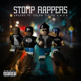 Stomp Rappers - Maxi-Single — M.O.P., Celph Titled, Apathy, C-Lance