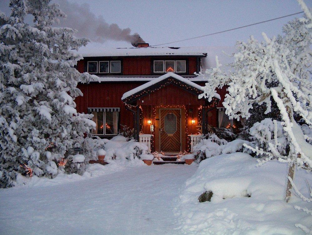 швеция зимой фото окончании
