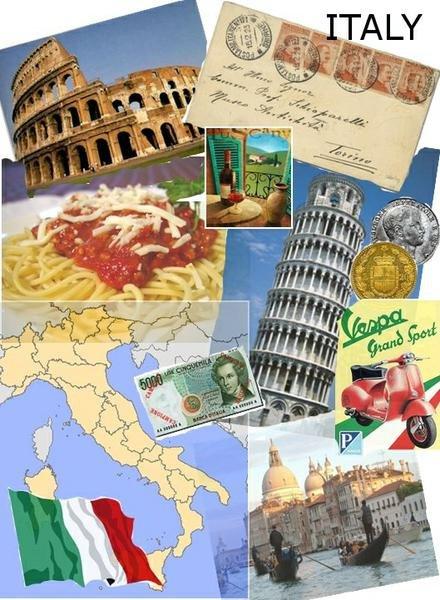 Достопримечательности италии картинки с надписями