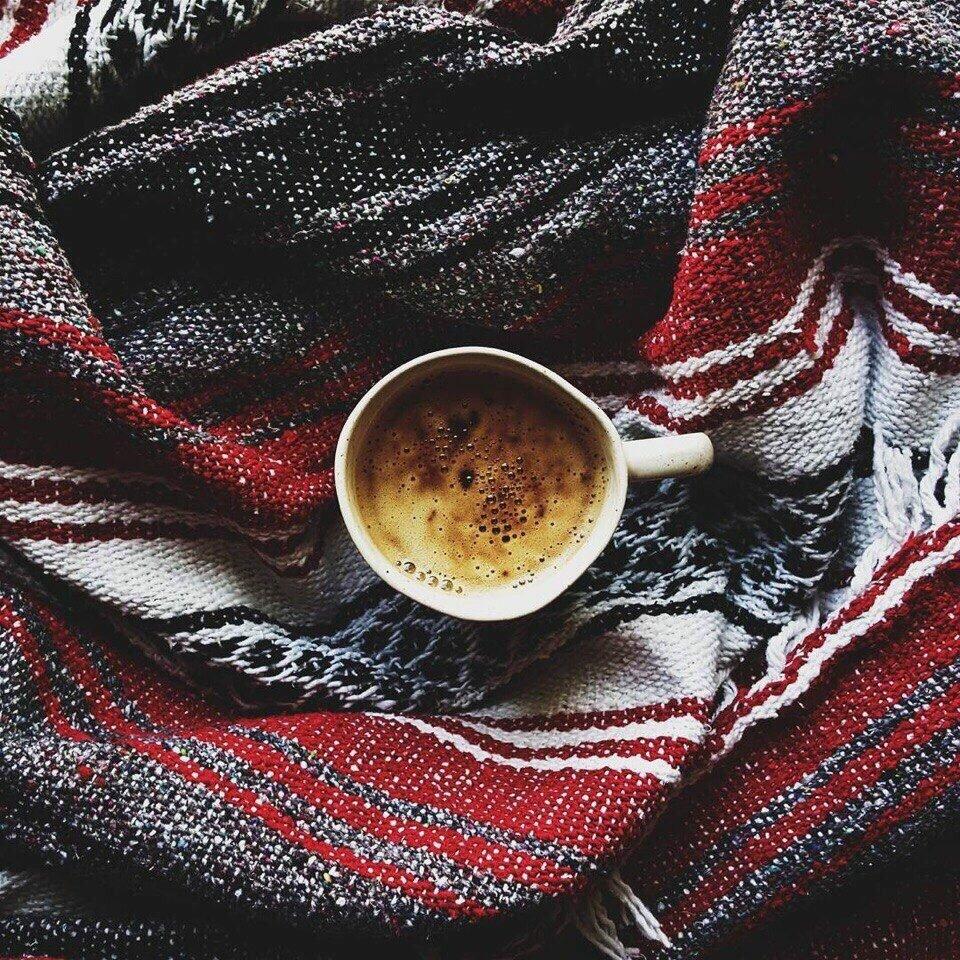 для гифка с кофе и пледом этом